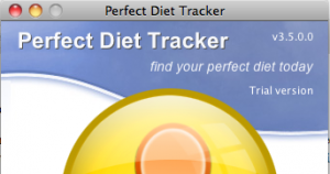 Perfect Diet Tracker 3.5 Screenshot